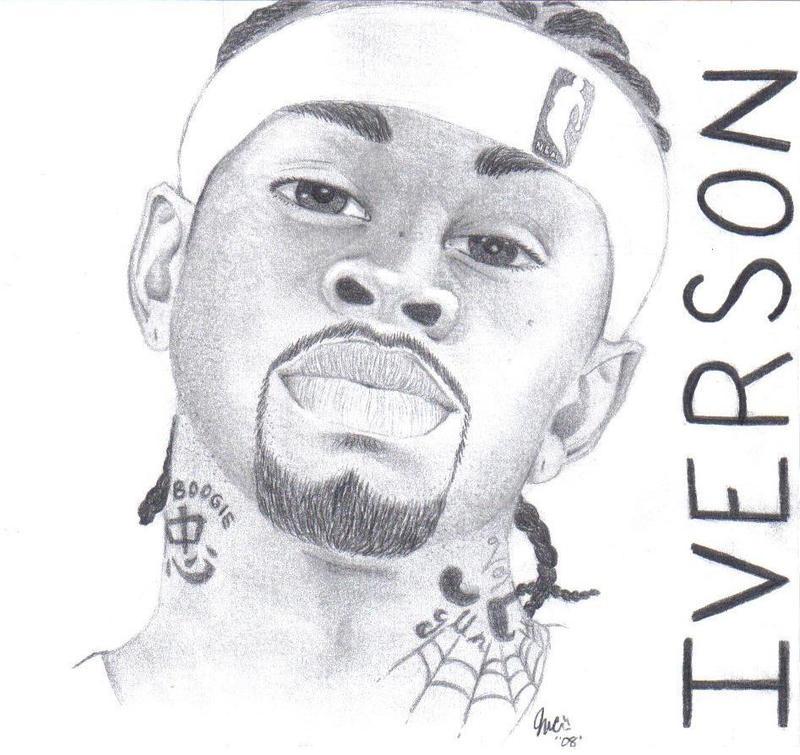 allen iverson coloring pages - photo#7