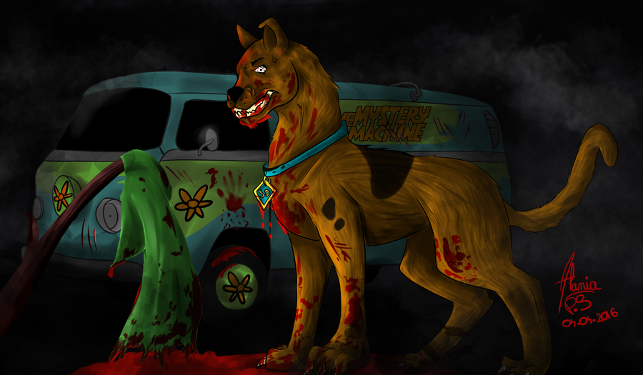 Bloody scooby doo by alania66 on deviantart - Samy scoobidoo ...