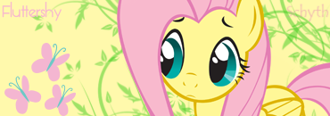 Fluttershy Signature by Schyth