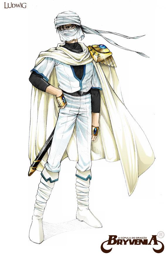 ninja-do-deserto II by Ludwig1300