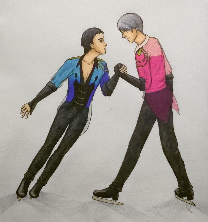 Viktor and Yuri by Oderian-Silverarrow