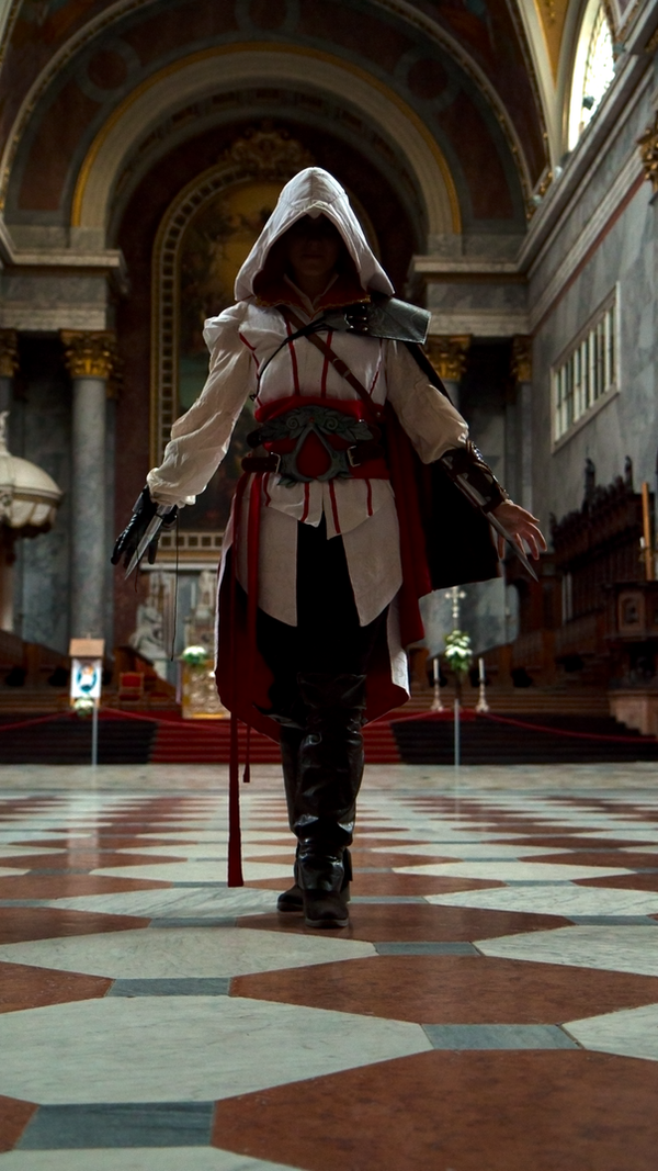 Ezio Auditore cosplay by Oderian-Silverarrow