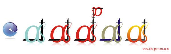 alpha logo by designersi