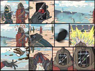 Destiny Comic: The Hunter and the Warlock