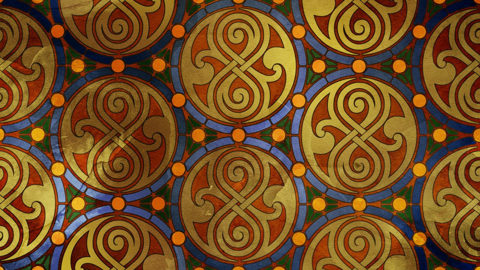 Moroccan tardis bg by thepromethean for Moroccan style wallpaper