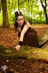 Artemis the Huntress by eyeofrae