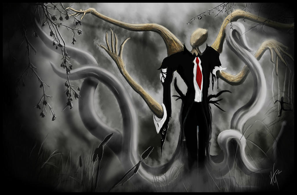 Video de Slenderman buscando trabajo
