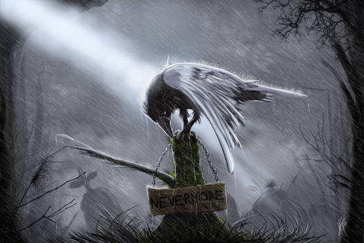 Quoth The Raven~Nevermore by KxG-WitcheR