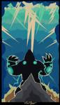 Volibear Retro Poster