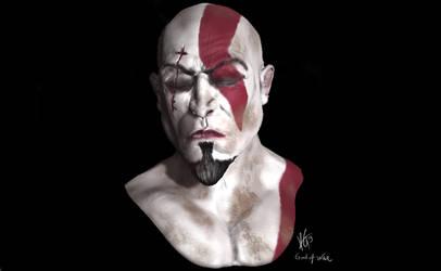 Kratos God Of War Sculpt Mudbox by KxG-WitcheR
