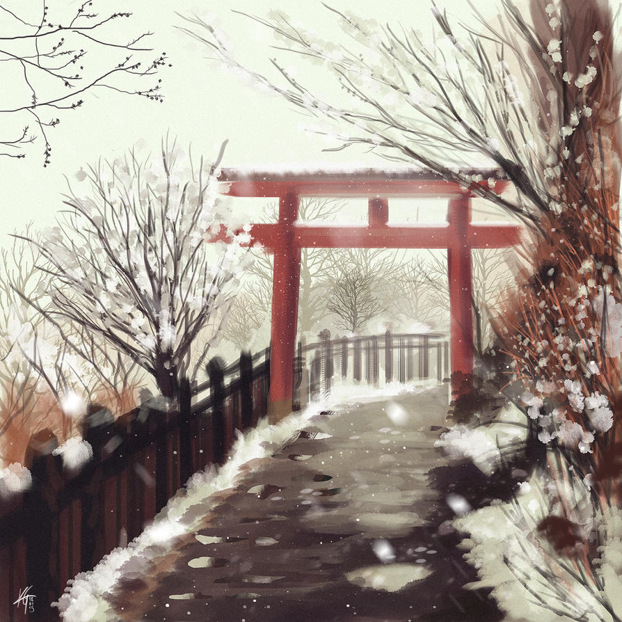 The Silent Torii by KxG-WitcheR