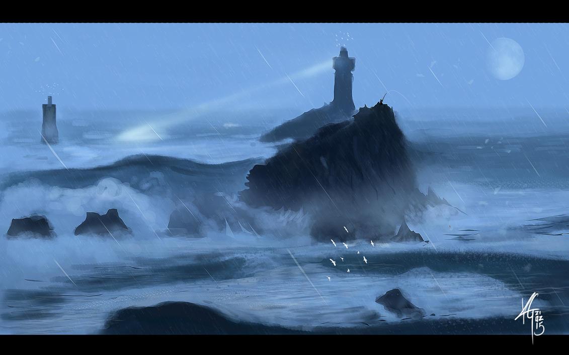 Vive la maree haute by KxG-WitcheR