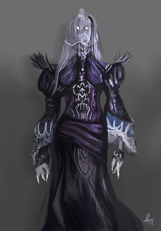 Ghost Witch Garment by KxG-WitcheR
