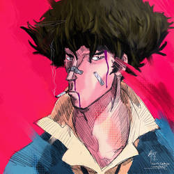 Spike Spiegel Cowboy Bebop! by KxG-WitcheR