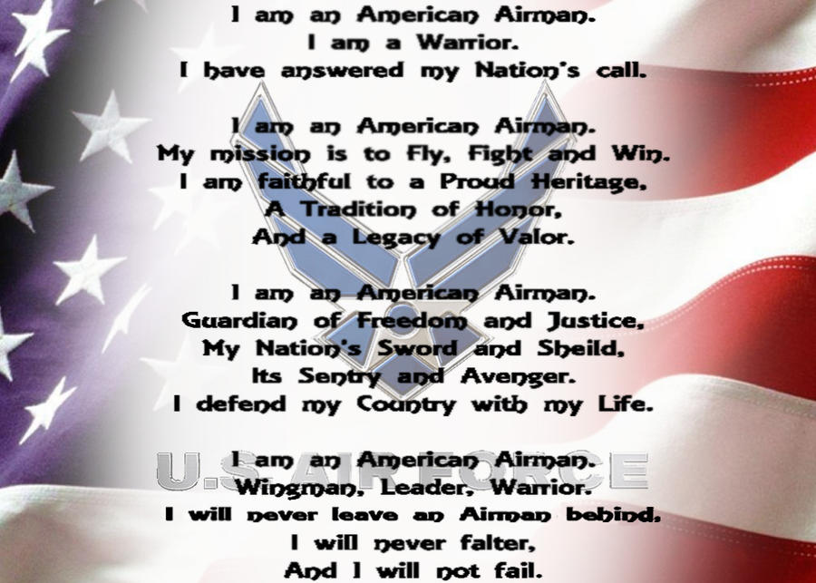 The airmans creed by the axe princess on deviantart the airmans creed by the axe princess thecheapjerseys Images