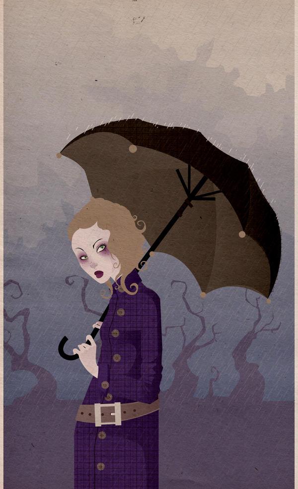 rain. by your-despair