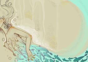 swim away. by your-despair