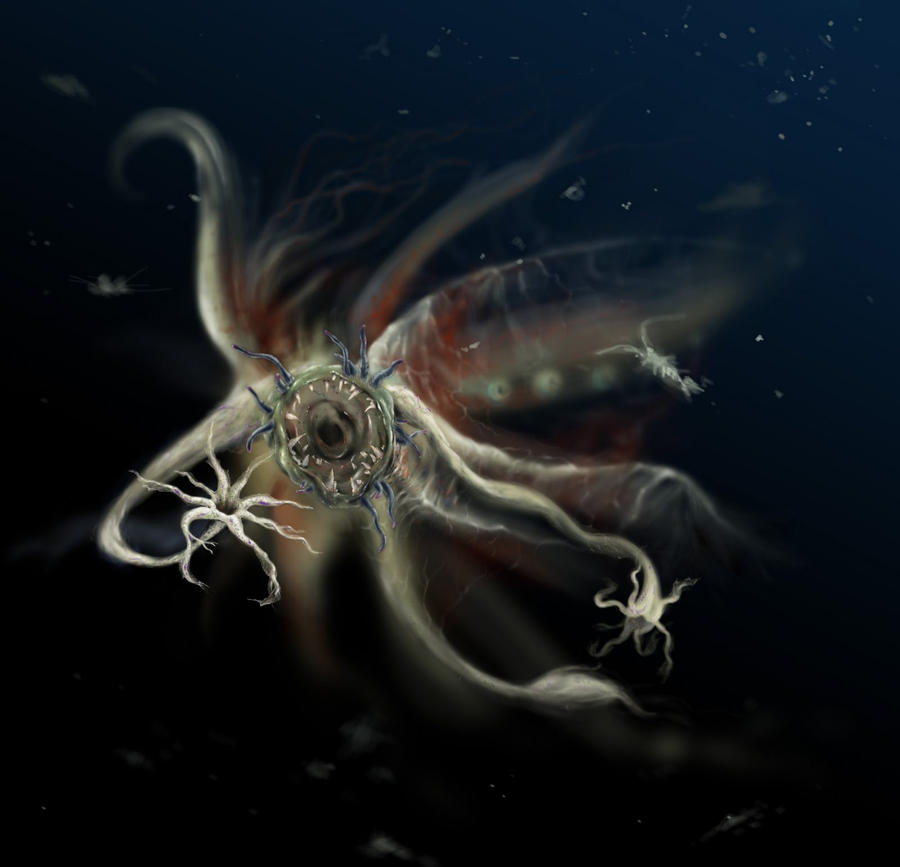 Sea Monster By Morgainelefee On DeviantArt