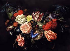 Festoon of flower and Fruit