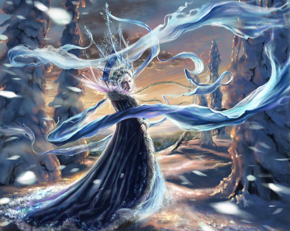 Snegurochka (Snow Maiden) by Morgainelefee