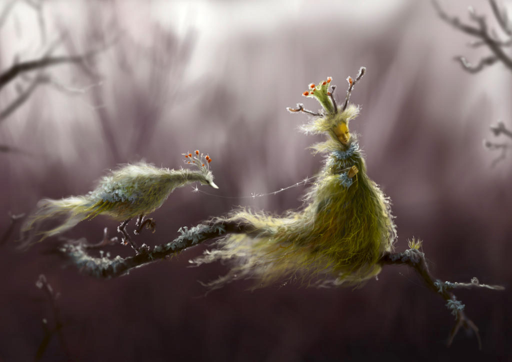 The Pet of Lady Usnea by Morgainelefee