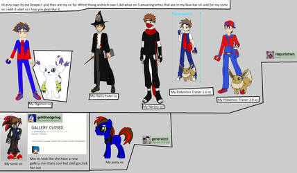 My Oc I Did And The Peppl You Shold Chek Out