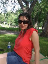 Me in a park by Killuanatsume