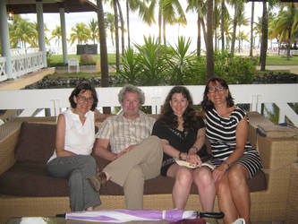 My familly and I in Cuba