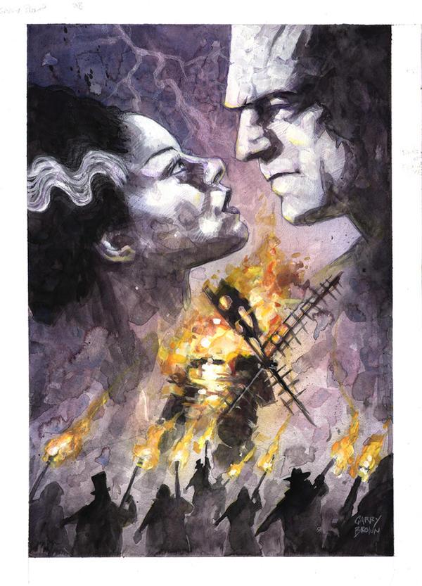 Bride of Frankenstein by thisismyboomstick