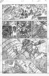 Batman Vs Predator P1 by thisismyboomstick
