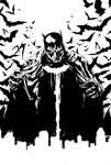 Batman Cover Inks