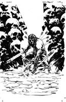 Conan Cover inks by thisismyboomstick