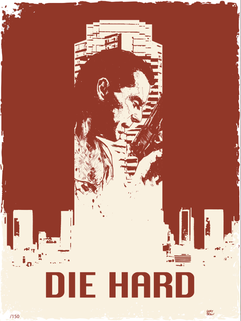 Die Hard Poster by thisismyboomstick
