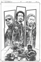 Sons of Anarchy #4 inks by thisismyboomstick