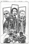 Sons of Anarchy #4 inks