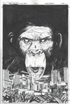 SDCC Dawn of the Planet of the Apes inks