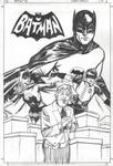 Batman '66 inks