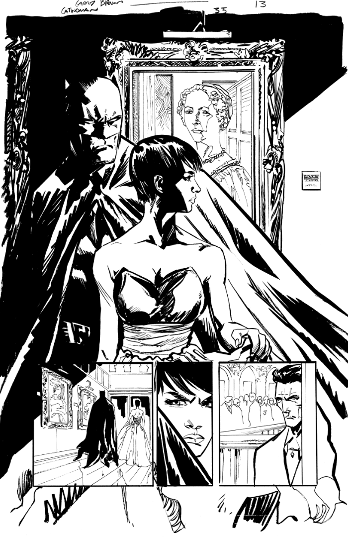 Catwoman 35 page by thisismyboomstick