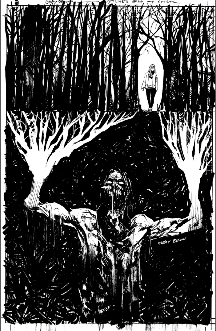 Wytches 4 variant inks by thisismyboomstick