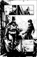 Catwoman page with Bats by thisismyboomstick