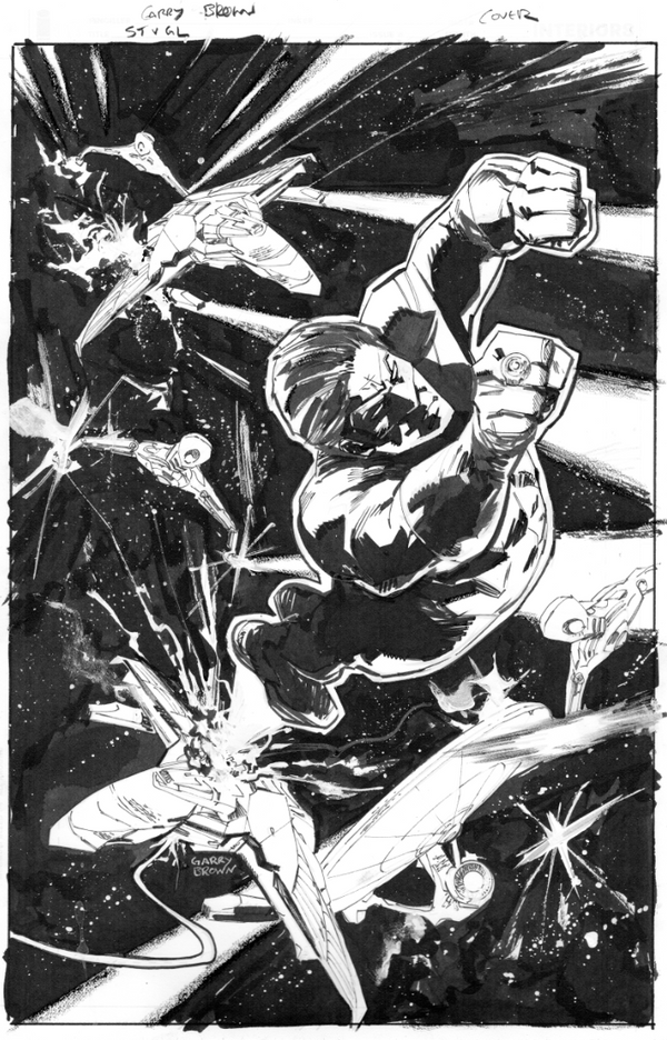 Star Trek v Green Lantern 5 inks by thisismyboomstick