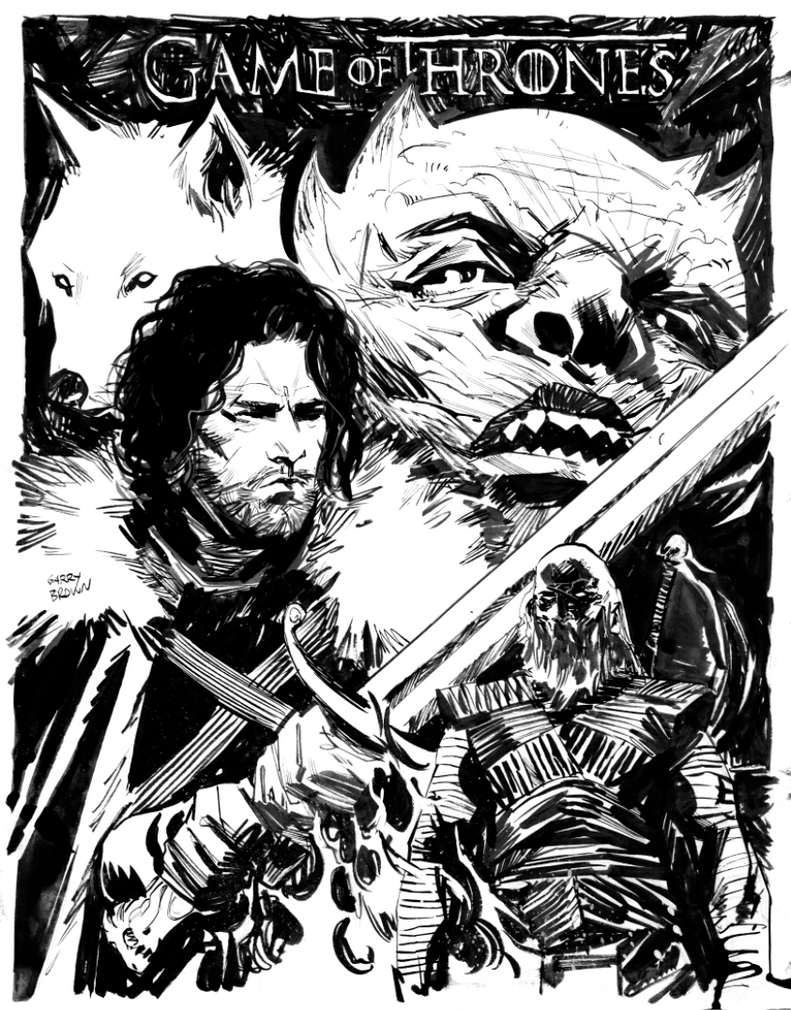 Jon Snow NYCC Commission by thisismyboomstick