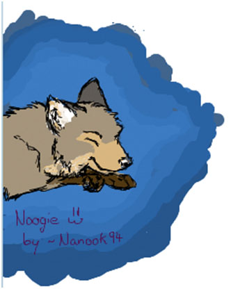 Noogie on iscribble by Nanook94