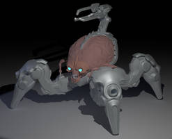 Untextured Arachnotron model