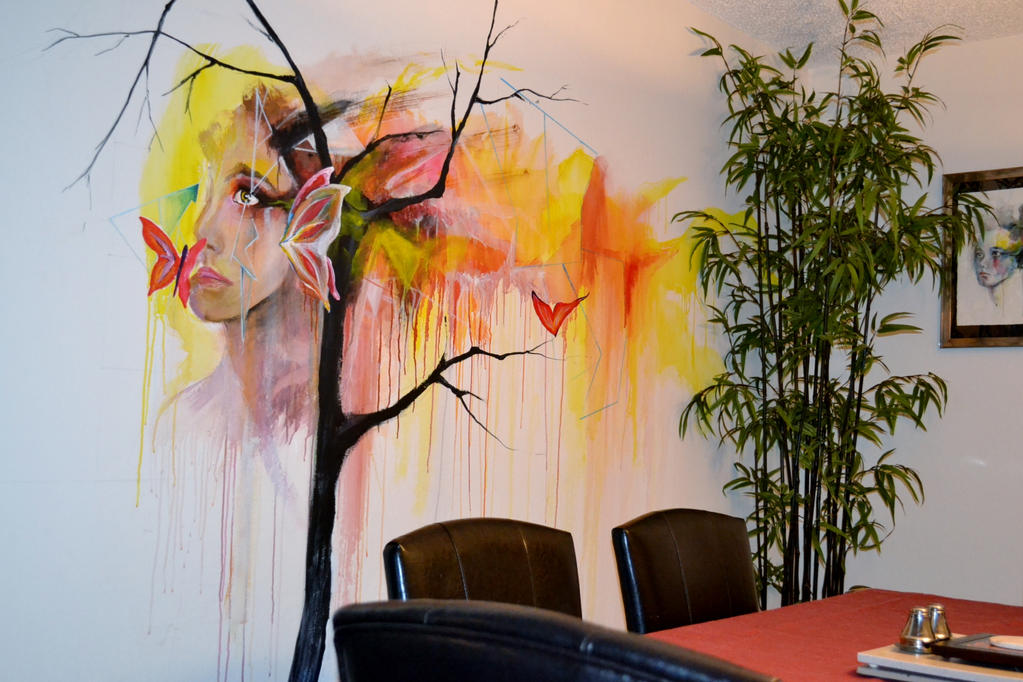 Mural WIP by mssirpercy