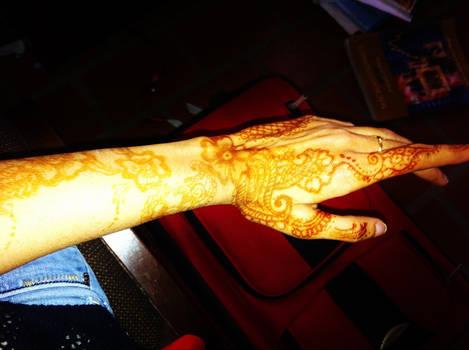 Henna Work
