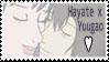 Hayate x Yuugao Stamp by Jyukai-Koudan