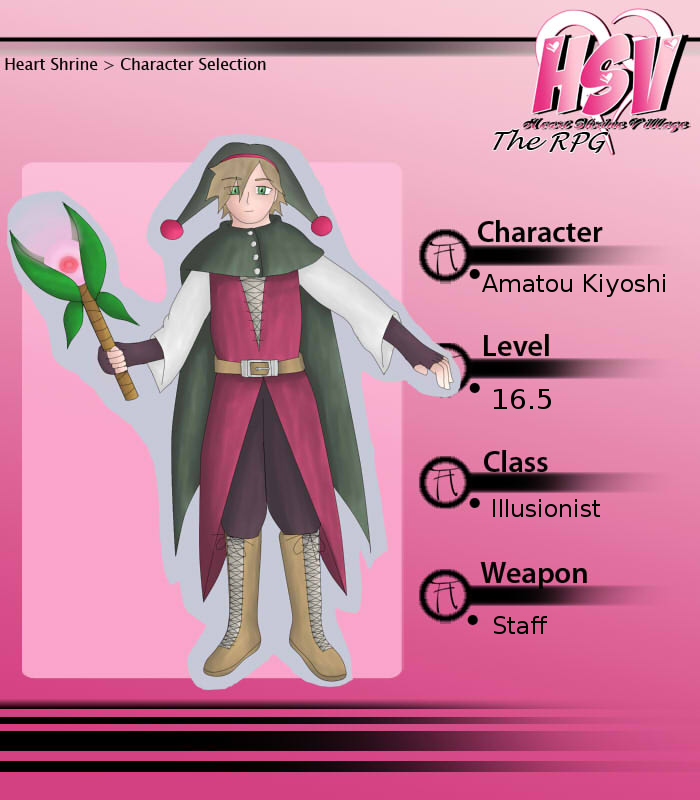HSV: Kiyoshi - RPG-card by Jyukai-Koudan