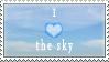 Sky Stamp by DaMoni
