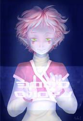 Code Lyoko fanart (Aelita) by Dallamokompas